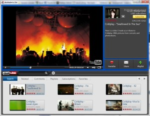 YouTube uden browser