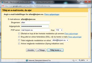 Tjek al din mail i Gmail