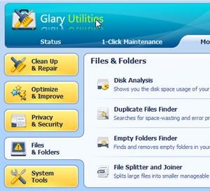 Rens din computer med Glary Utilities