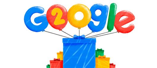 Google fylder 20