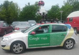 En snak med Google map manden