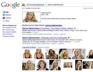 Smart billedsøgning hos Google