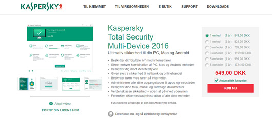 Kaspersky Total Security 2016