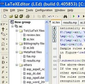 LaTeX – et værktøj for seriøse tekstbehandlere