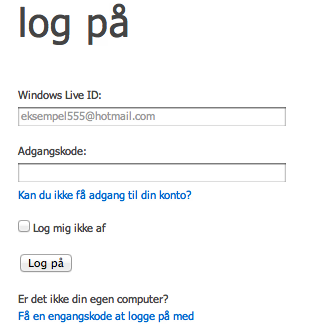 Pas på dine passwords