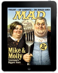 Mad Magazine på iPad