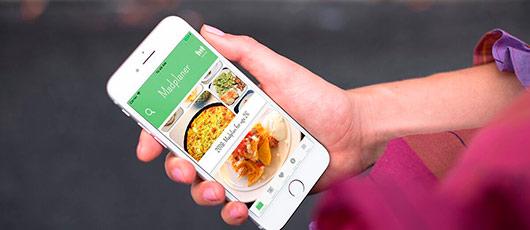 Aftensmad i dansk app