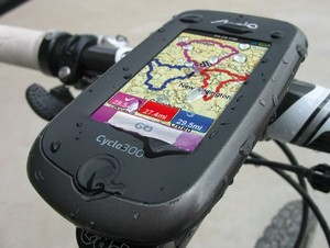 Cykel GPS fra Mio