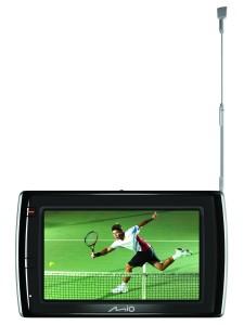 GPS fra Mio med indbygget tv