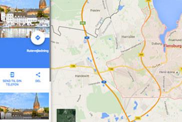 Opret dit eget kort med Google Maps
