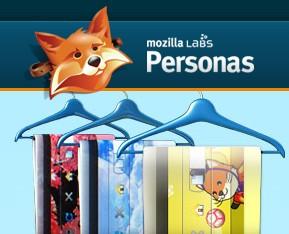 Personas - skins til Firefox