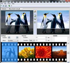 Fra billeder til video
