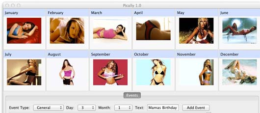 Kalender med fotos