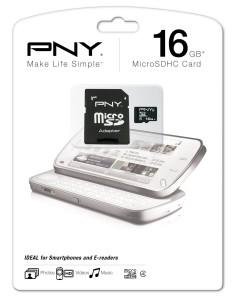 Hukommelseskort fra PNY
