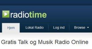 Gratis internetradio: Radiotime