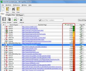 SEO software: SEO Spyglass