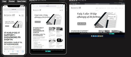 Sizzy – en browser til webnørder