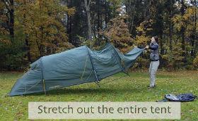 Slå telt op med YouTube