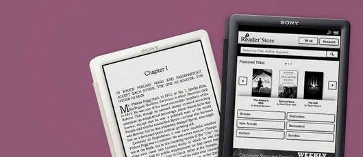 Sony Reader: læs elektroniske bøger