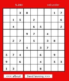 Er du en ægte sudoku mester?
