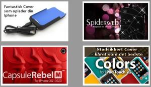 Ekstra udstyr til iPhone og iPod