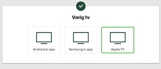 YouSee app til Apple TV